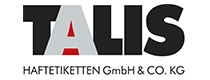 [Translate to English-US:] Logo Talis Haftetiketten